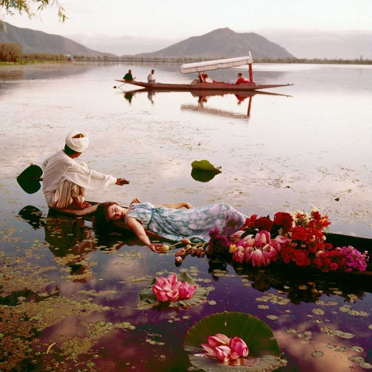 """In 1956, fashion photographer Norman Parkinson travelled to India to shoot an editorial for British Vogue. He snapped models Anne Gunning and Barbara Mullenthroughout thevast country, from theTaj Mahal to the Jaipur City Palace and beyond. The resulting images, shown here,inspired Diana Vreeland to famously proclaim that """"pink is the navy blue of India."""" The …"""