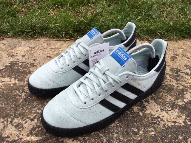adidas Gazelle Vintage White Green Gum Trainers Shoes UK 9
