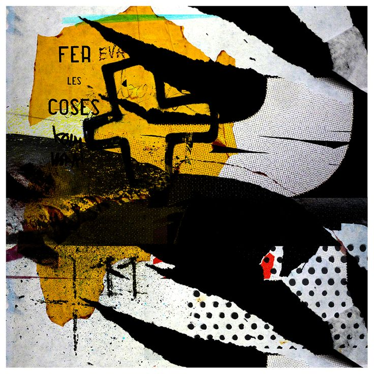 Tittel: Fea les coses. Giclée Art Print; size: from 50cm to 100 cm square format