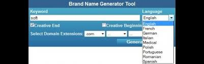 A brand name is a specific name given to a company, product and service. A good brand name will reflect the range of your company's endeavors. A brand name generator is a piece of software that helps you to find an original brand name for your upcoming business. Just enter some keywords related to your company or desired website. The letters you entered will shift to the percentage specified in each of the fields. Using the current settings all vowels are replaced  with other vowels,