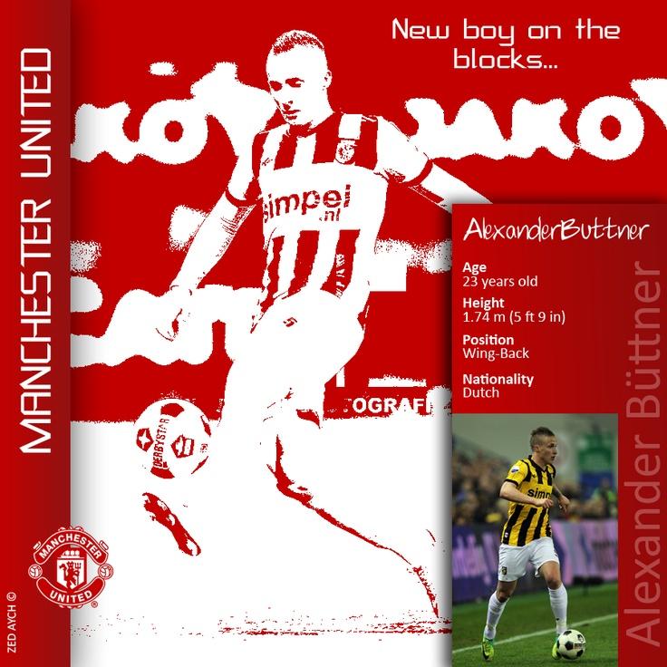 Dutchman Alexander Buttner signs a 5 year deal at Manchester United #MUFC