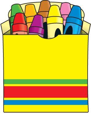 Cute crayon box
