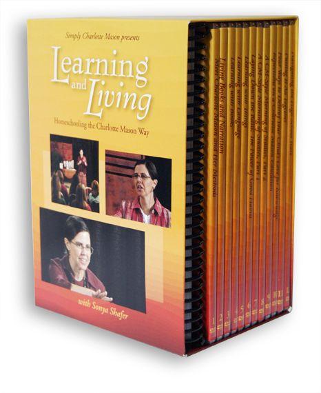Learning and Living: Homeschooling the Charlotte Mason Way DVD Set - Simply Charlotte Mason $130