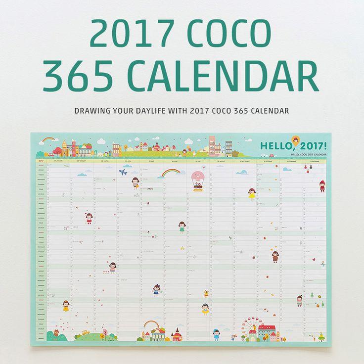 2017 Kalender 365 Hari Jadwal