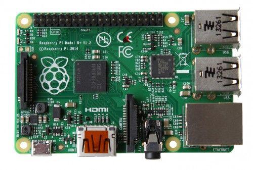 New Raspberry Pi Model B+