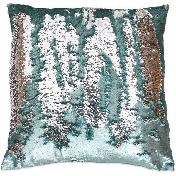 Thro Melody Mermaid Sequin Square Throw Pillow ($40) ❤ liked on Polyvore featuring home, home decor, throw pillows, mermaid sequin throw pillow, square throw pillows, mermaid home decor, mermaid throw pillows and colored throw pillows