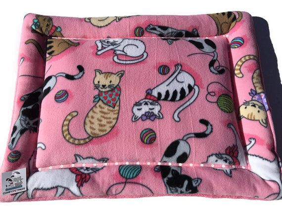 Pink Cat Bed Mat, Kitten Pad, Crate Pet Mats, Made in Colorado, Pink Cat Bed, Small Pet Mat, Chair Cushion, Gift for Cat Lovers, Kitten Beds #KittenBeds #ChairCushion #PinkCatBedMat #SmallPetMat #KittenPad #PinkCatBed #CatBedMat #MadeInColorado #CratePetMats #GiftForCatLovers