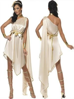 Костюмы греческих богинь сделай сам