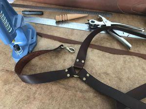 Как сделать кожаные подтяжки - Mr Martin - Ярмарка Мастеров http://www.livemaster.ru/topic/2304565-kak-sdelat-kozhanye-podtyazhki