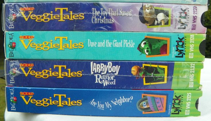 VeggieTales VHS Lot of 16 with Bonus | eBay