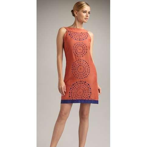 neiman marcus dresses | Neiman Marcus: Women's Shanti Cutwork Dress by KAS New York | ThisNext