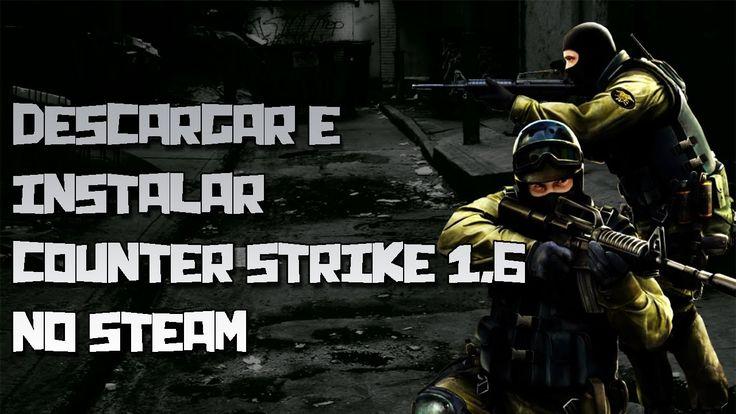 Descargar e instalar counter strike 1.6 no steam para pc full en español...