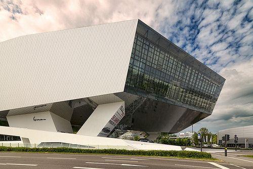 Porsche Museum designed by Delugan Meissl. Stuttgart