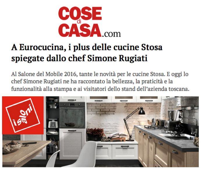 Anche su Cose di Casa online si parla dello show product di Simone Rugiati che si è tenuto nel nostro stand venerdì 15 aprile.
