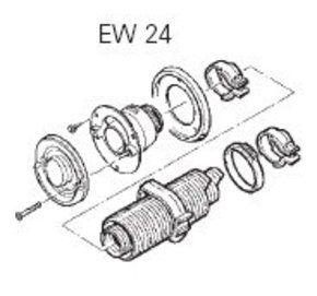 Truma EW 24 Wall Mount Flue Kit for E2400 Cabin Heater/RV-2.4kw