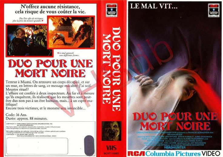 Duo pour une mort noire (HEADHUNTER, IMAGE ORGANIZATION, 1988), PAL VHS, RCA COLUMBIA PICTURES VIDEO, BELGIQUE, Union européenne, Wallonie, Espagne, Gibraltar, Annie HART, Au Revoir Simone, St. Vincent Annie CLARK, Dylana SUAREZ, #natalieoffduty, Natalie off Duty, Natalie SUAREZ, nostalgie, inspiration, style bohème, alternative girls, indie scene hair, filles alternatives, riot girl, hippie goth, messy bangs, fashion model poses, fashion bloggers, féminisme, red hair color, hipster bob…