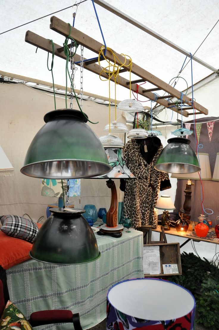 Vintage Fayre.  Fathers Shed at Hay Does Vintage,Hay-on-Wye