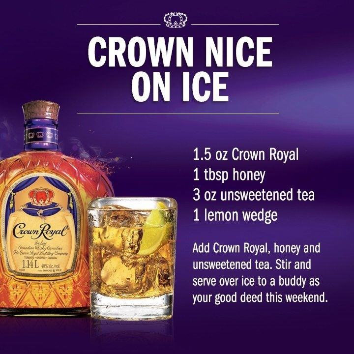 Easy Mixed Drinks With Crown Royal