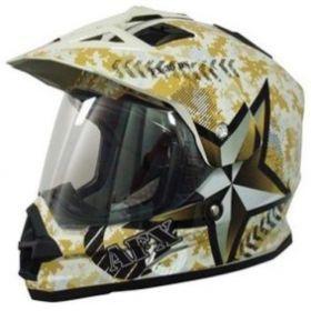 AFX FX-39 Dual Sport Helmet Desert Marpat
