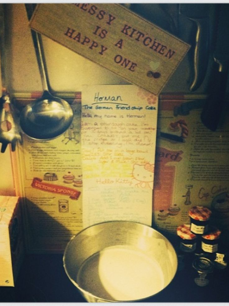 Herman Canadian Cake Recipe