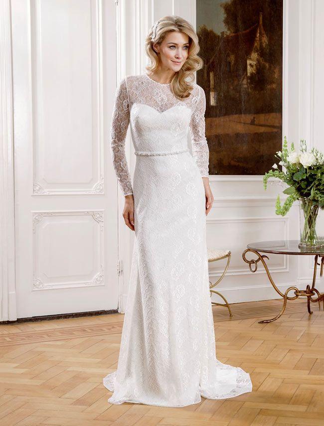 Modeca wedding dress ramadi at Glamourous Gowns.