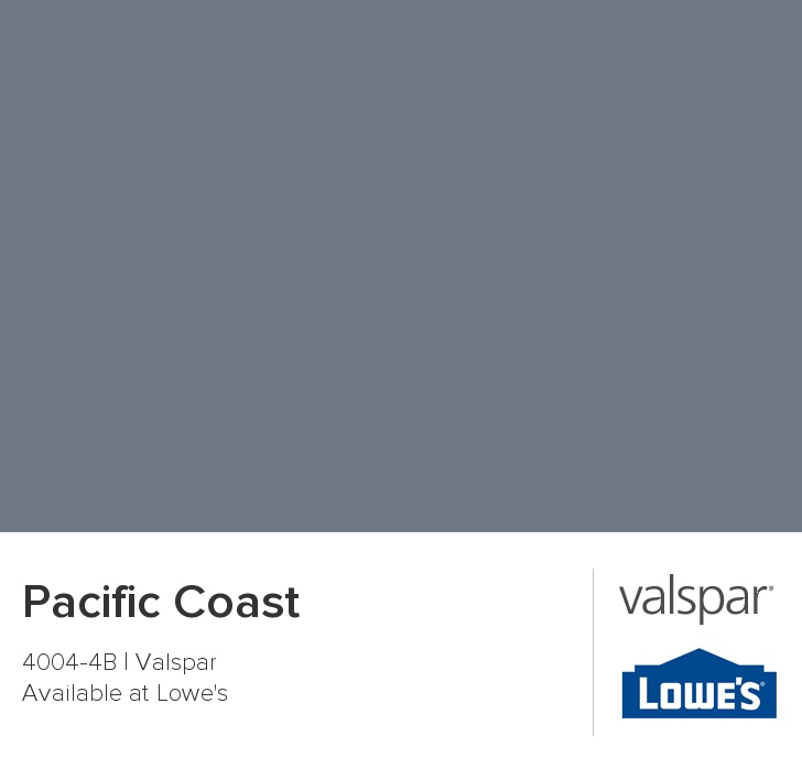 Pacific Coast From Valspar In 2019 Valspar Paint Colors