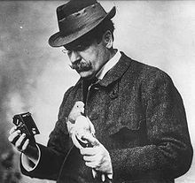 Julius Gustav Neubronner (8 February 1852, Kronberg im Taunus, Duchy of Nassau – 17 April 1932) was a German apothecary, inventor, company founder, and a pioneer of amateur photography and film.
