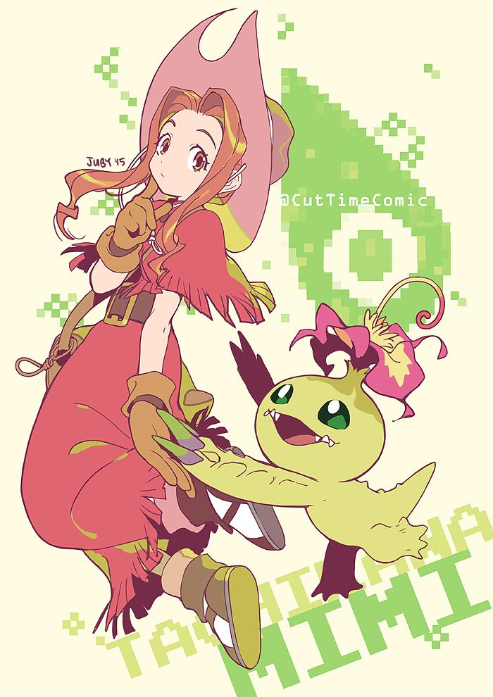 Digimon Adventure: Mimi and Palmon