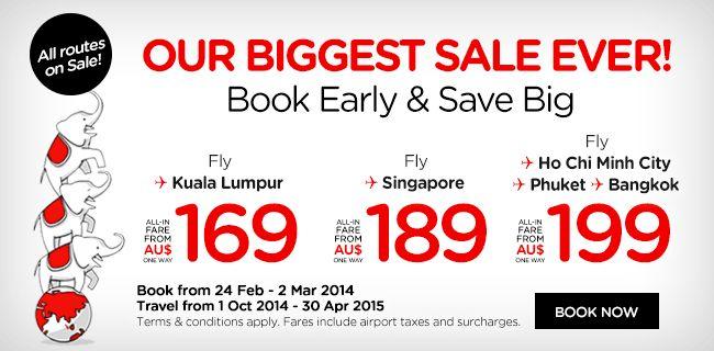 Kuala Lumpur Return ex Melb $333, Syd $348, Adel $328, Perth $290, GC $327 with AIR ASIA - http://slickdeals.co.nz/deals/2014/2/kuala-lumpur-return-ex-melb-$333,-syd-$348,-adel-$328,-perth-$290,-gc-$327-with-air-asia.aspx