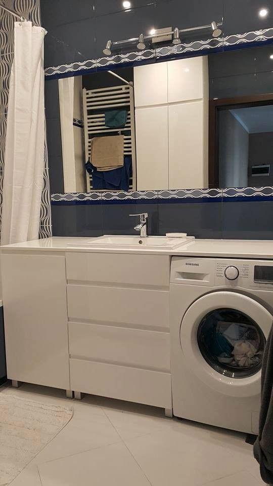 przesuwne drzwi w łazience zabudowa pralki - Szukaj w Google