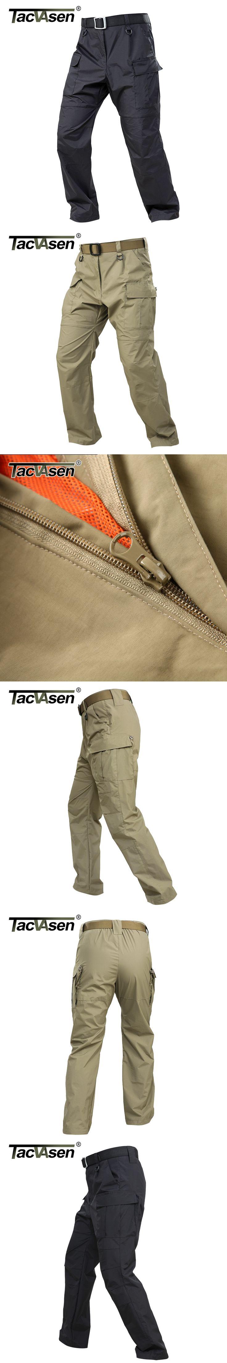 TACVASEN Lightweight Men Pants Military Tactical Pants Men's Waterproof Cargo Pants BDU Combat Trousers For Climb  TD-WJLQ-010