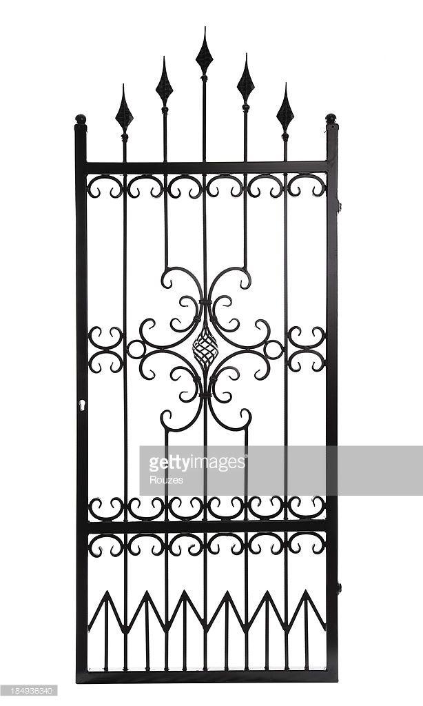 Stock Photo : Gate Isolated