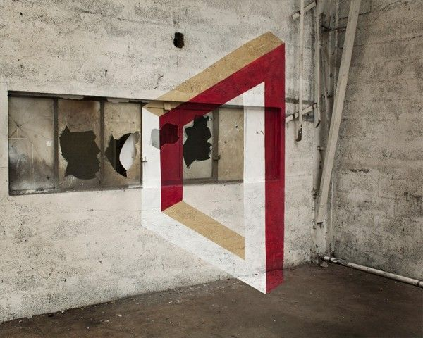 The Impossible Geometry, Anamorphic Street Art by Fanette Guilloud