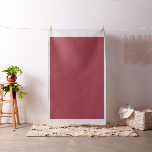 Milano Red Pima Cotton Fabric
