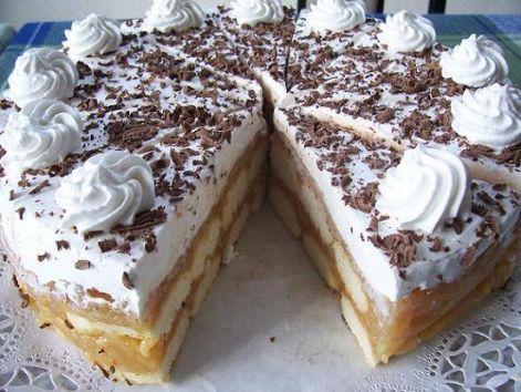 Sütés nélküli almatorta-a nyári napokra!
