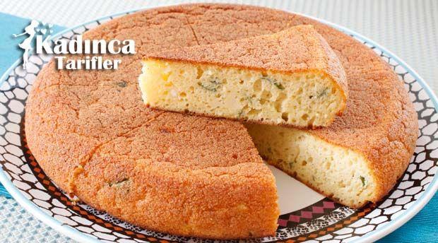 Peynirli Tava Keki Tarifi   Kadınca Tarifler   Kolay ve Nefis Yemek Tarifleri Sitesi - Oktay Usta