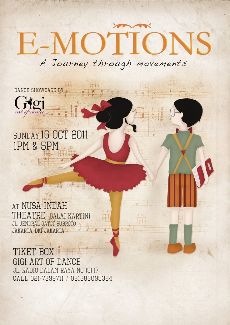 Poster for E-Motions: A Journey Through Movements 2011