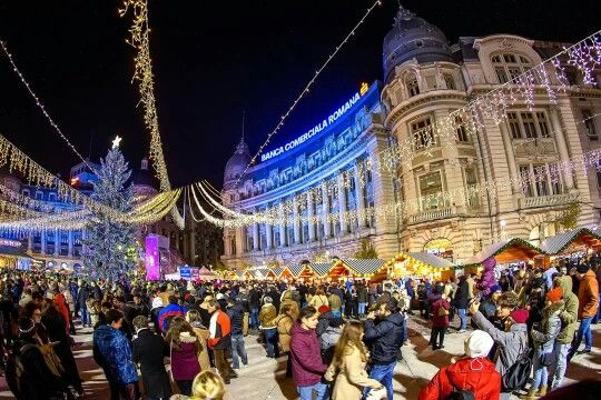 Bucharest Christmas market