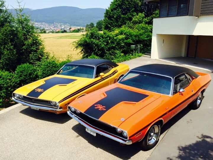 '71 & '70 Dodge Challenger's