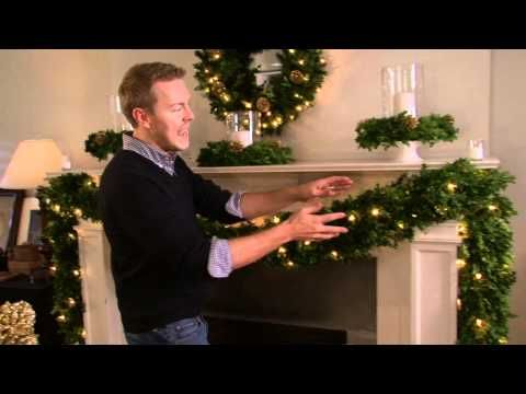 Designer Eddie Ross Decorates Mantle for the Holidays with Kmart