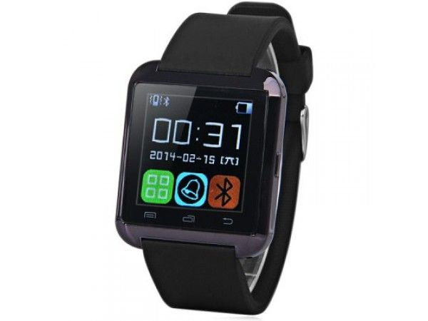 U8 Smartwatch Bluetooth Watch Answer and Dial the Phone Passometer Altitude Meter Burglar Alarm
