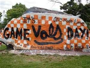The Rock! Tennessee Volunteers