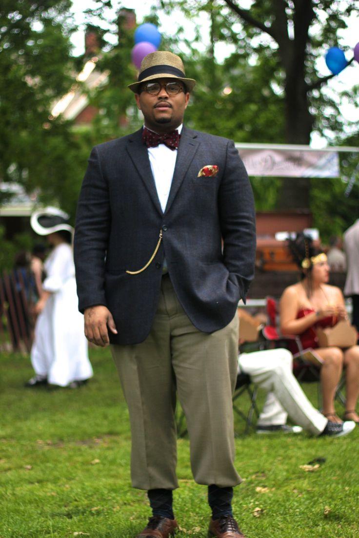 esquiringminds:My Style | 8th Annual Jazz Age Lawn Party http://bigguyflyy.tumblr.comfor big guy fashion!