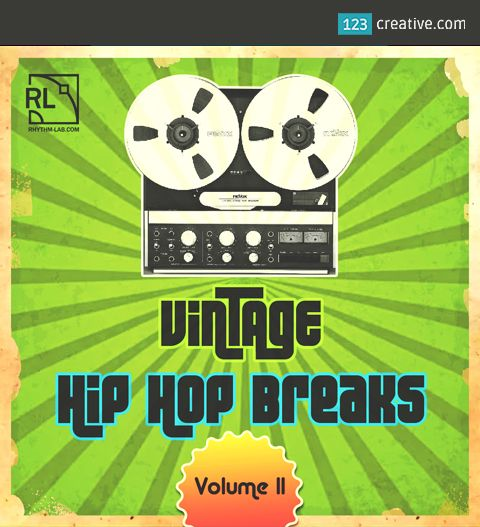 ► VINTAGE HIP HOP BREAKS Vol.2 - 67 DRUM LOOPS -  is the second volume of this collection of funky and groovy Hip Hop breaks and beats. This pack includes 67 professionally designed drum loops with unique a vinyl sound and character. Check it here: http://www.123creative.com/electronic-music-production-audio-samples-and-loops/1417-vintage-hip-hop-breaks-vol2-67-drum-loops.html