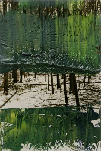 thethirdmind:    pictografica:  Gerhard Richter. Over-painted photos. This one titled 13. Nov. 2000. This and many more on his website.