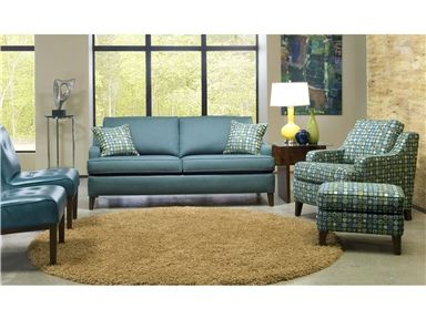 Elegant Shop For Smith Brothers Two Cushion Sofa, And Other Living Room Sofas At  Habegger Furniture Inc In Berne, IN. Comfort Wrinkles Are Designed To  Appear In ...