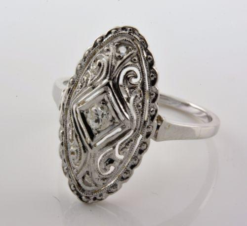 ART-NOUVEAU-RING-DIAMOND-SOLID-WHITE-GOLD-18K