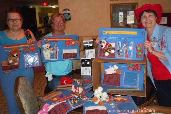 Sew An Alzheimer S Activity Mat Activity Mat And Nancy