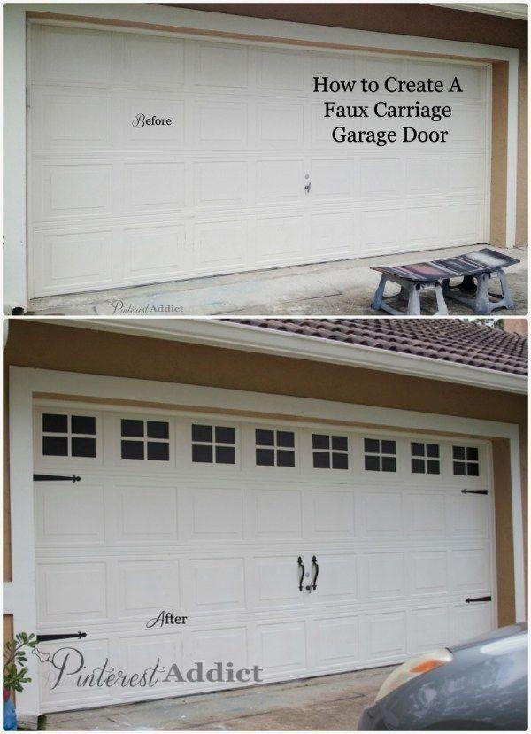 Garage Door Casing Ideas and Pics of Garage Doors Models. #garagedoors #garage #garageorganization