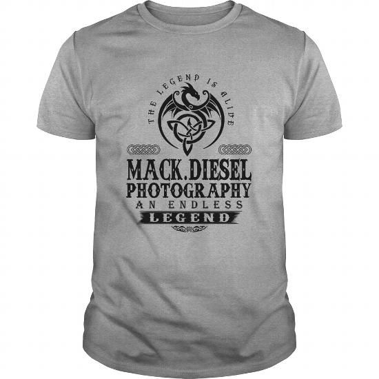 I Love Mack.Diesel Photography Legend Shirts & Tees